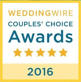 2016 WeddingWire Couples Choice Award